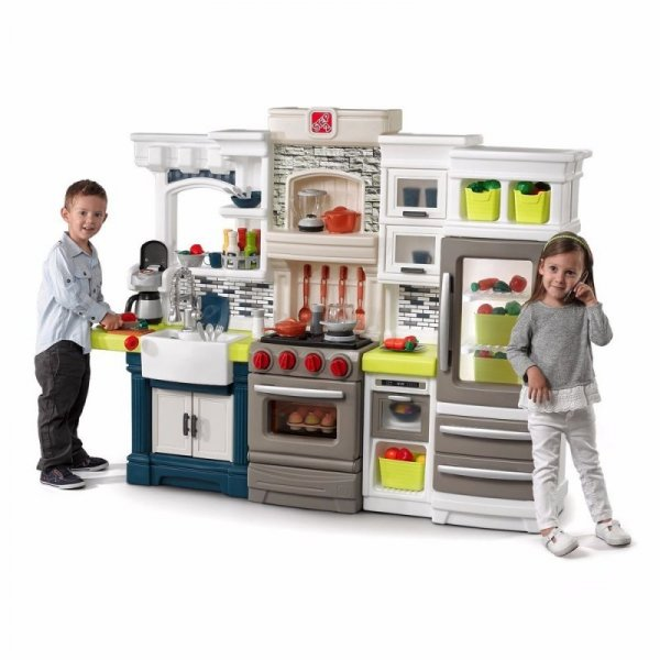 Step2 Stylowa kuchnia dla dzieci Elegant Edge z akcesoriami