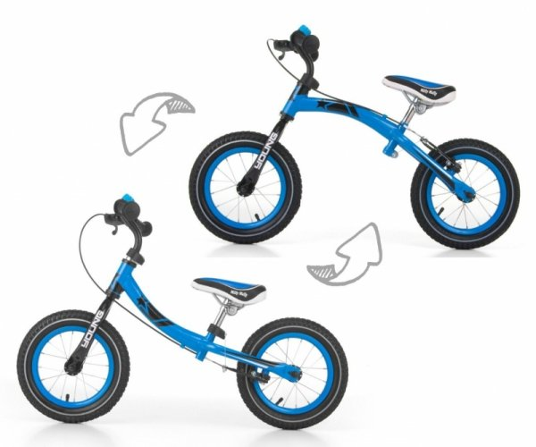 Rowerek Biegowy Young Blue