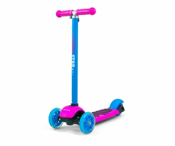 Scooter Little Star Pink-Blue