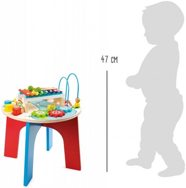 "SMALL FOOT ""2 in 1"" Motor Skills Trainer and Music Table - stolik motoryczno - muzyczny"