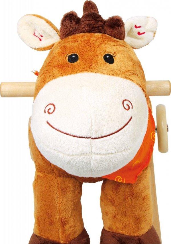 "SMALL FOOT Rocking Horse ""Nele"" - konik na biegunach z kółkami"