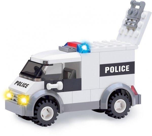 Klocki Blocki MyPolice Duży Komisariat 631 el.