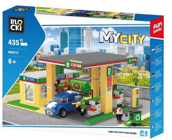 Klocki Blocki MyCity Stacja Benzynowa 435 el.