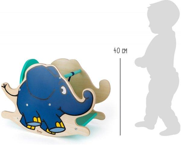 "SMALL FOOT Rocking Elephant ""Die Maus"" - bujak (słonik)"