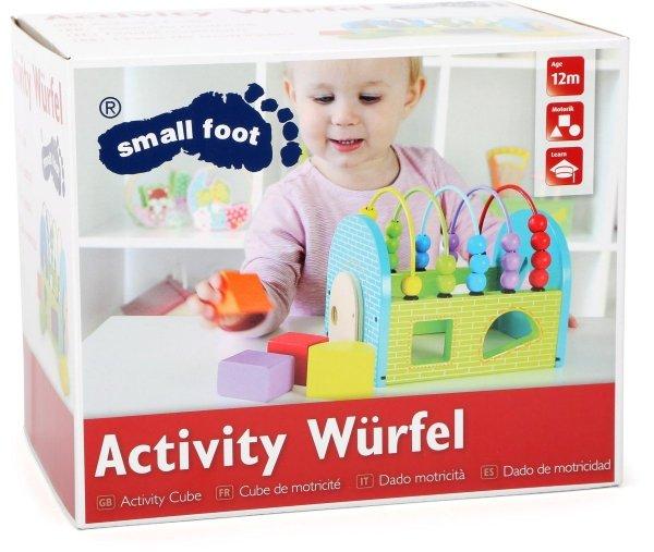 SMALL FOOT Activity Cube - interaktywna kostka