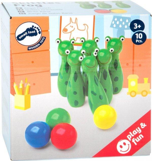 "SMALL FOOT Skittles ""Frog"" - kręgle (żabki)"