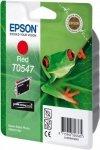 Wkład czerwony do Epson Stylus Photo R800/R1800 400 str. T0547
