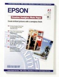 Papier Epson Semigloss Photo Premium A3 20 ark 251g/m2 S041334