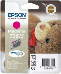 Wkład purpurowy do Epson Stylus D88/D68PE/DX4800/3850/4850/3800. Wydajność 400 stron. T0613
