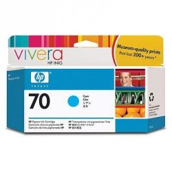 Tusz (Ink) HP 70 cyan (130ml) Vivera do Z2100/Z5200 C9452A