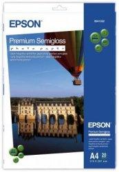 Papier Epson fotograficzny Premium Semi Gloss A4 (20 arkuszy) 251 g/m2 S041332