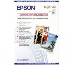 Papier Epson Photo Premium Semigloss A3+ (20 ark) 250 g/m2 S041328