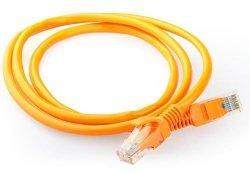 Gembird Patch cord kategoria 5e osłonka zalewana 0.5m pomarańczowy