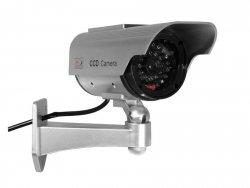 CEE Atrapa kamery Solarna migajaca LED SOL1200                                    w zestawie naklejka