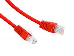 Gembird Patch cord Kat.6 UTP 0.5m czerwony