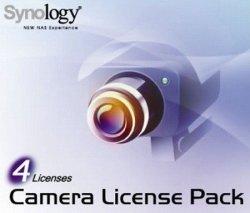 Synology Zestaw dodatkowych licencji na 4 urządzenia (kamera lub IO)