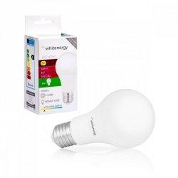 Whitenergy Żarówka LED A60 E27 8W 638lm ciepła biała mleczna