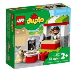 LEGO Polska Klocki DUPLO Stoisko z pizzą