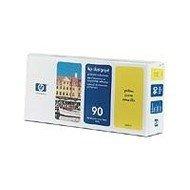 Głowica (Printhead) HP 90 yellow + Gniazdo czyszczące (Printhead cleaner) do DnJ 4000/4000PS/4020/4020PS/4500/4500PS/4520 C5057A