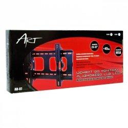 UCHWYT DO MONITORA PLASMA/LCD czarny 23-37'' do 45KG AR-07 ART