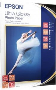 Papier Epson Ultra Glossy Photo Paper A4 300 g/m2 15 arkuszy S041927
