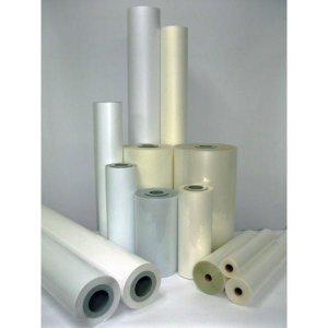 Laminat folia PVC polimeryczna błyszcząca 1050x50m 75mic do laminacji na zimno i ciepło