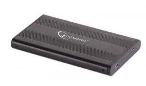 Gembird Obudowa HDD 2.5'' SATA Aluminium Black