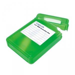 LogiLink Pudełko ochronne do HDD 3.5', zielone