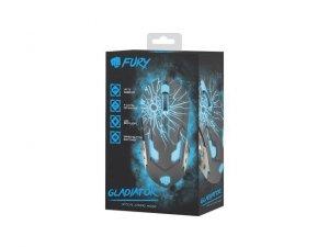 NATEC Mysz Fury Gladiator 3200 DPI podświetlana