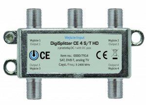 TechniSat  Rozdzielacz antenowy CE4S 1/4