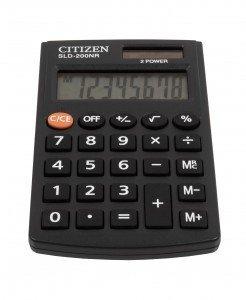 Citizen Kalkulator kieszonkowy SLD200NR