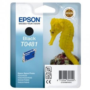 Epson Tusz Stylus Photo R200 T0481 Black, 13ml