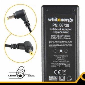 Whitenergy Zasilacz 9.5V | 2.31A 22W wtyk 4.8*1.7 mm Asus EEE PC 701  06738