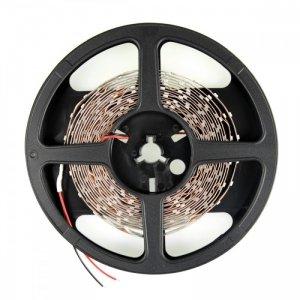 Whitenergy Taśma LED|5m|60szt/m|SMD3528|4.8W/m|12V|wew.|8mm|zimna biała|bez konektora