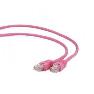 Gembird Patch cord kat.5e osłonka zalewana 0.5M różowy