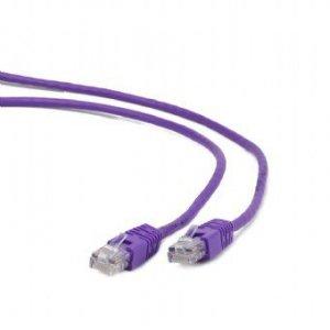 Gembird Patch cord kat.5e osłonka zalewana 1M fioletowy