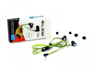 BLOW Słuchawki B-11 zółto-zielone douszne