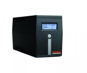 Lestar Zasilacz awaryjny UPS MCL-655SSU AVR LCD 2xSCH USB