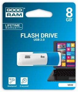 GOODRAM COLOR MIX 8GB PENDRIVE USB2.0