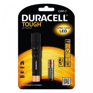Duracell Latarka LED TOUGH CMP-7, wodoodporna + 1x AA