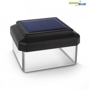 GreenBlue Lampa solarna na słupek LED 60x60 GB126 Daszek kopertowy