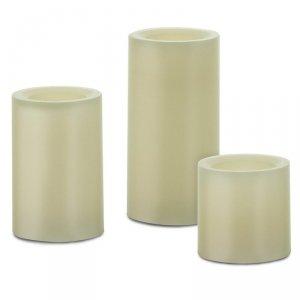Retlux 3 Lampki LED z naturalnego wosku RLC 31 świeczki 50 75 100