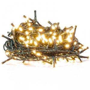 Retlux Łańcuch lampek świątecznych LED RXL 205 100szt. ciepły biały