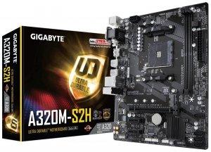 Gigabyte Płyta główna GA-A320M-S2H AM4 A320M 2DDR4 USB3/DVI/D-SUB uATX