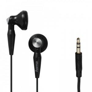 Hama Słuchawki douszne Basic4Music czarne