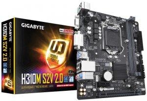 Gigabyte Płyta główna H310M S2V 2.0 S1151 2DDR4 DSUB/DVI/USB3 mATX