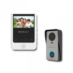 Qoltec Wideodomofon Theon 4 | TFT LCD 4,3 cala | biały