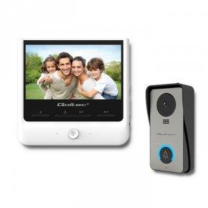 Qoltec Wideodomofon Theon 7 | TFT LCD 7 cala | biały
