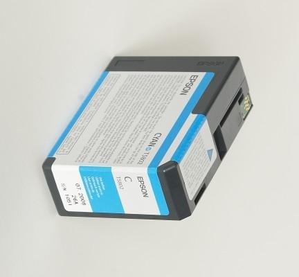 Tusz Cyan (80 ml) do Epson Stylus Pro 3800 T5802