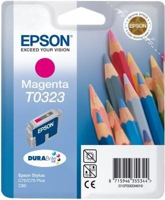 Wkład purpurowy do Epson Stylus C70/C80 T0323